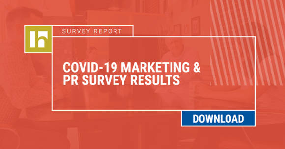 Download our COVID-19 Marketing & PR Survey Results Report