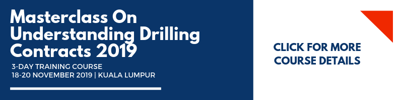 Masterclass On Understanding Drilling Contracts 2019