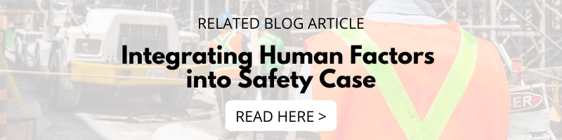 Integrating Human Factors into Safety Case