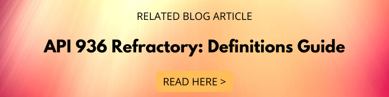 API 936 Refractory Definitions Guide