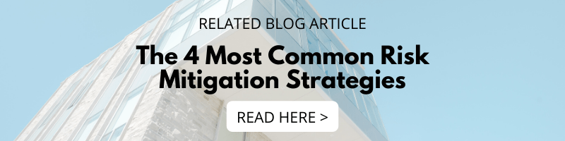 The 4 Most Common Risk Mitigation Strategies