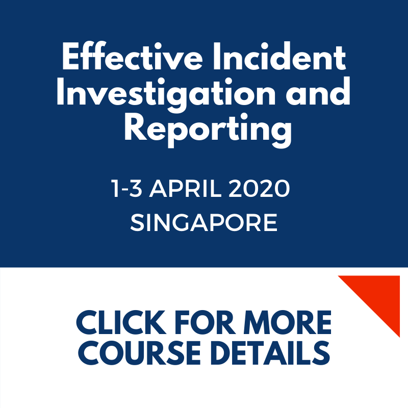 Effective Incident Investigation and Reporting SG