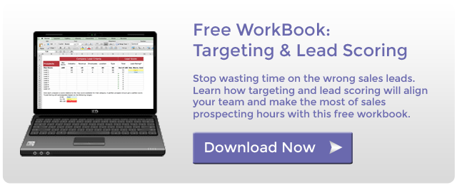 Free workbook download - targeting and lead scoring