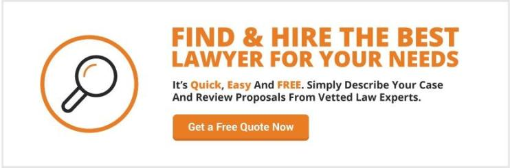 Find and Hire the best Lawyer for your needs! create a logo