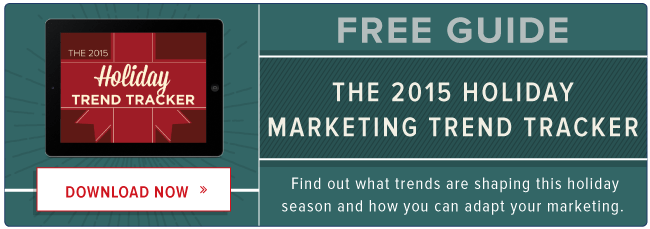 free 2015 holiday marketing trend tracker