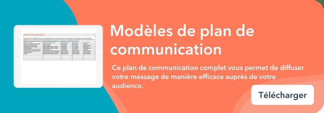Bottom-CTA: Communication plan