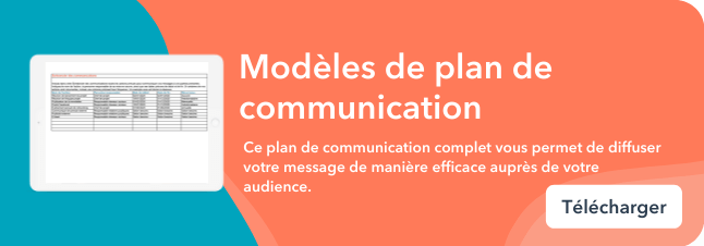 Bottom-CTA: Communication plan