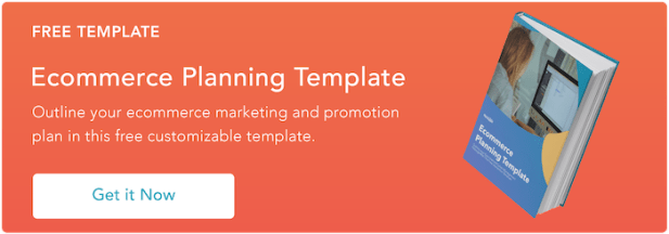 ecommerce planning template