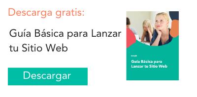 Lanzar tu Web