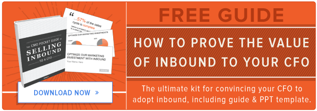 free kit to convince your cfo to adopt inbound