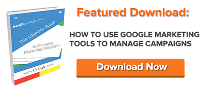 free guide to google marketing tools