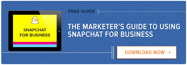 free guide: how to use snapchat for business