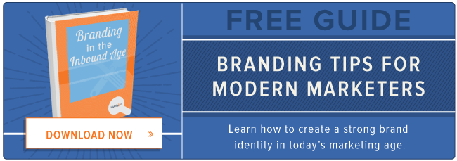 free guide to modern-day business branding
