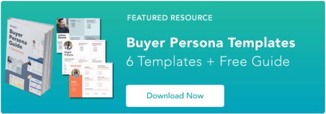 Blog - Buyer Persona Template [Updated]