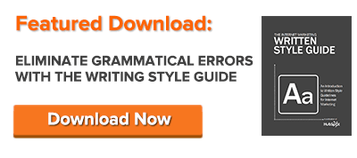 fix grammatical errors with the free writing style guide