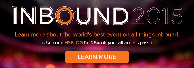 learn more about INBOUND 2015