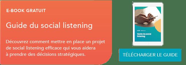 Social listening guide