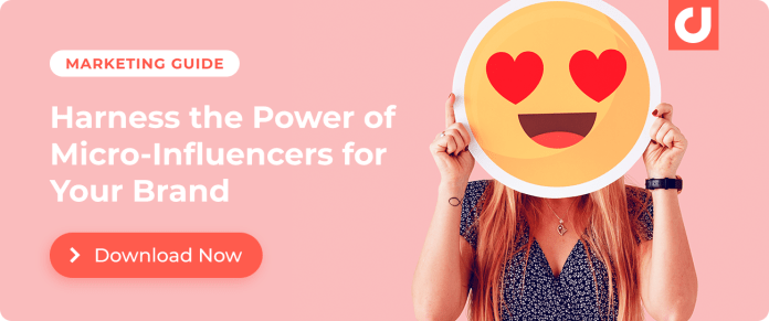 Harness the power of micro-influencers for your brand! Download our guide.