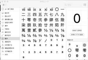 macで分数や累乗を表記する方法