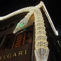 銀座のイルミネーションは有名ブランド店が織りなす楽しめる大人のイルミネーション!