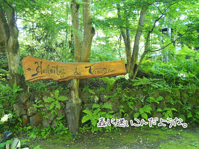軽井沢 フランス料理ランチ エルミタージュ・ドゥ・タムラ