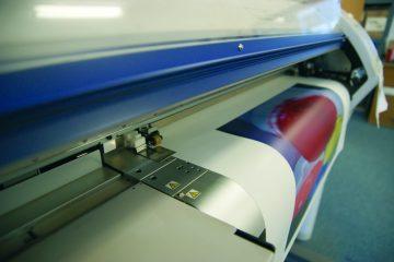 Digitaldruck - hervorragende Farbbrillanz.