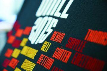 Flockdruck - no limit Textilveredelung.