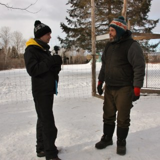 Maxime et Pascal - Manitou Mushers - Mauricie