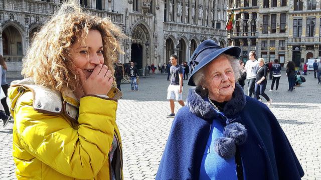 La dame en bleu - Bruxelles - No Mad Land