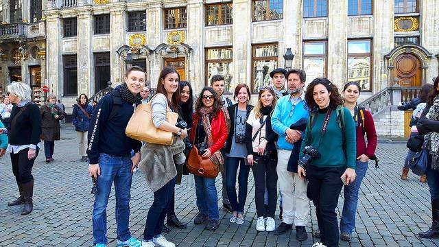 Team Blogtrip Bruxelles - No Ma Land