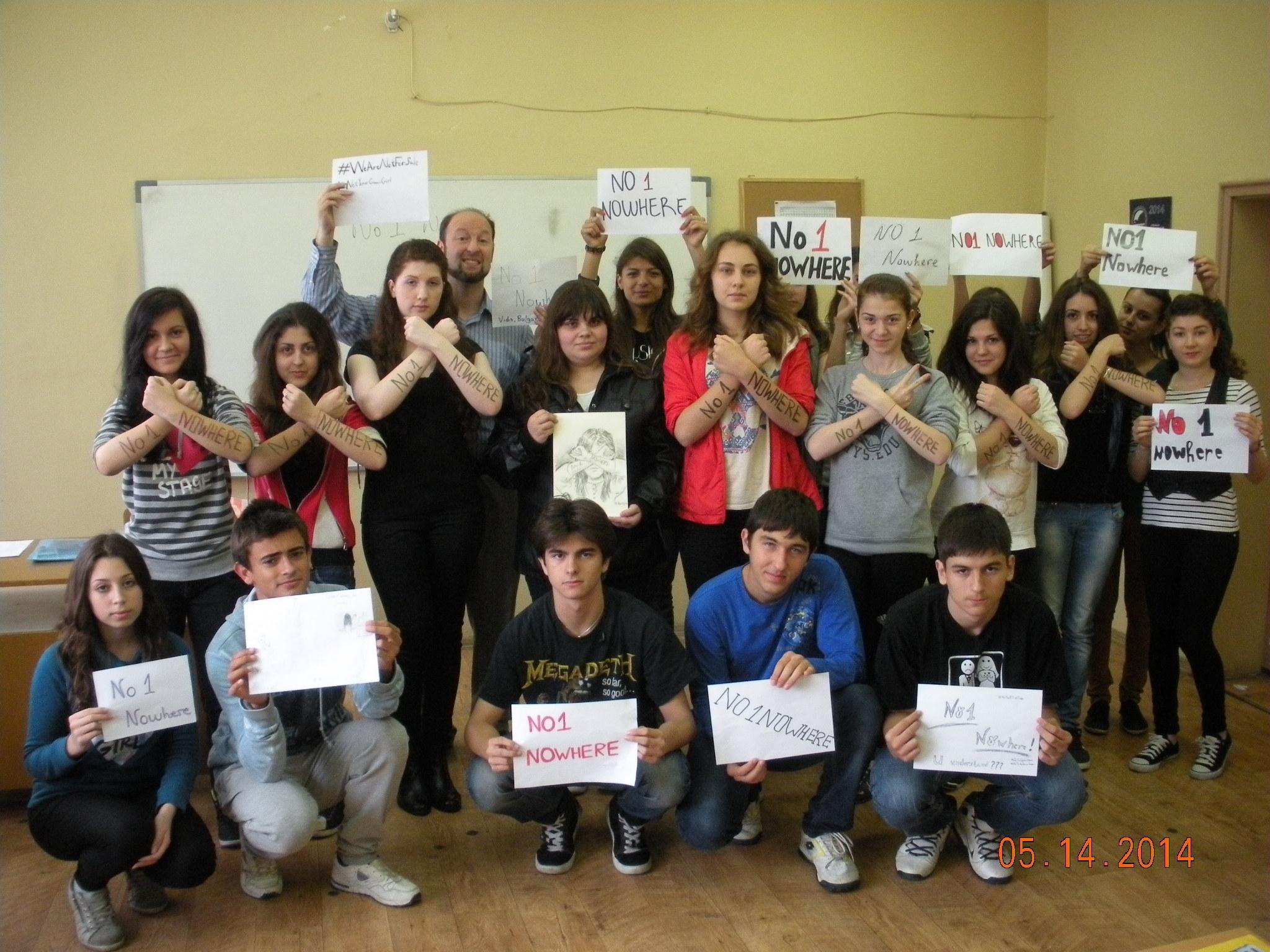 9th Grade Class 9 B From Yordan Radichkov Foreign Language