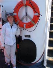 NOAA Teacher at Sea, Margaret Stephens, aboard the Pisces