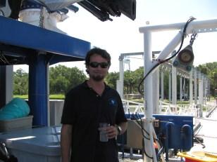 Fisheries Biologist David Berrane