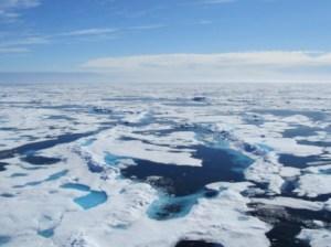 Ice with Ridges