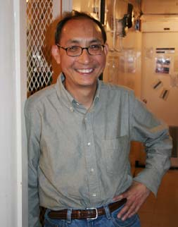 """Dezhang Chu, NOAA fisheries, Physical Scientist, PhD Geophysics   """"To study science you need devotion and dedication.  It's not something you make a lot of money at, but you can contribute good things to human society."""""""