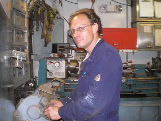 """Mark Watson, Wiper, Engineering Department   """"Life and science go hand in hand; you can't have one other the other."""""""