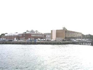 NOAA's dock at Woods Hole, Massachusetts