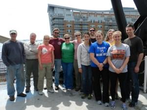 Scientific crew on the Gordon Gunter