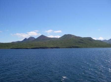 View of Nagai Island from Porpoise Harbor