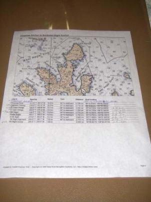 NOAA sail plan to Northwest Bight