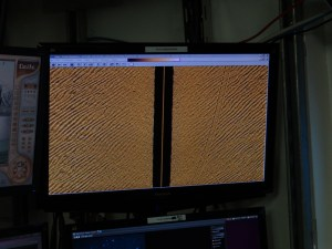 Dredge Marks on Right Screen