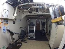 Front exercise room