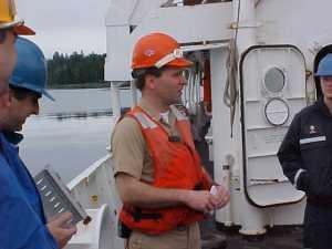 Captain of the RAINIER: Guy Noll
