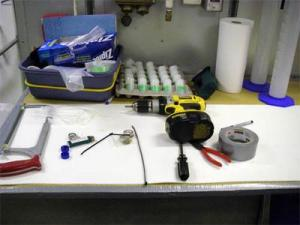 Scientists often have to make their own data sampling equipment. It is a mixture of science, engineering, and creativity.
