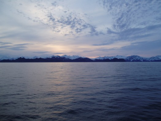 Sunset at Kenai