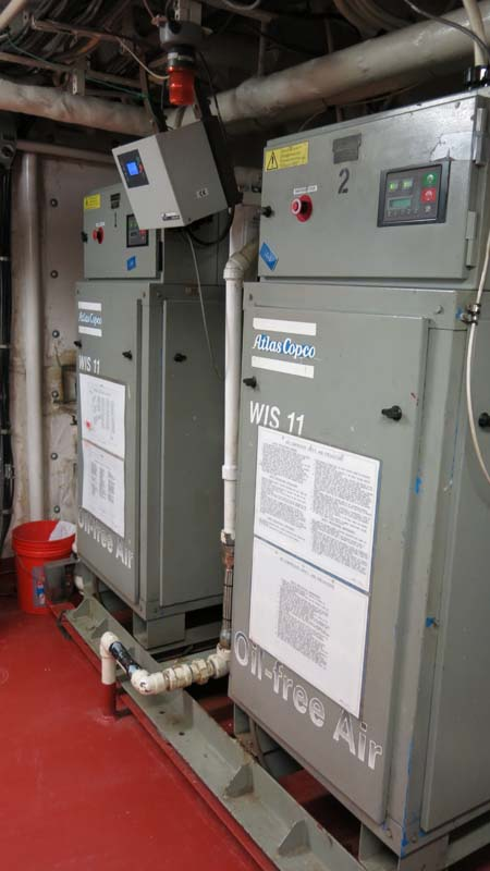 Air Compressors. Photo by DJ Kast