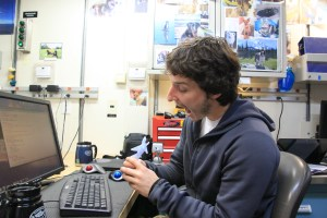 Chris, one of the scientists on board