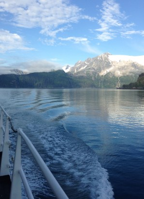 Cruising through Prince William Sound