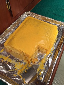 Yummy lemon cake