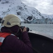 Taking Pics of Johns Hopkins glacier small